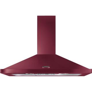 Rangemaster Chimney Hood 110cm (Red)