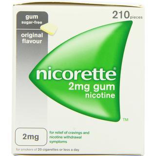 Nicorette 2mg 210pcs