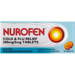 Nurofen Cold and Flu Relief 200mg 16pcs