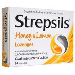 Strepsils Honey & Lemon 24pcs