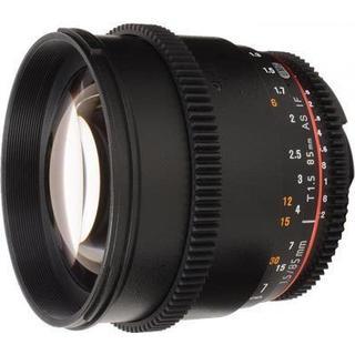 Samyang 85mm T1.5 AS IF UMC VDSLR II for Canon EF