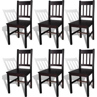 vidaXL 271499 6-pack Kitchen Chair