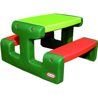 Little Tikes Junior Picnic Table Bench Table