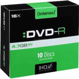 Intenso DVD-R 4.7GB 16x Slimcase 10-Pack