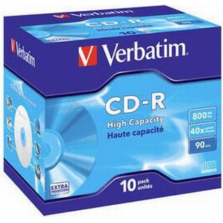 Verbatim CD-R Extra Protection 800MB 40x Jewelcase 10-Pack