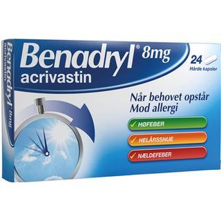 Benadryl 8mg 24pcs