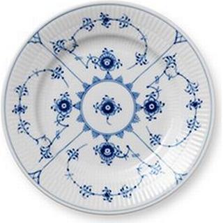 Royal Copenhagen Blue Fluted Plain Dinner Plate 17 cm