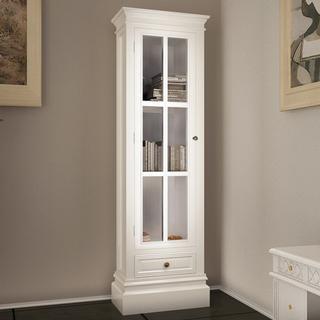 vidaXL Lyon 147cm Glass Cabinet
