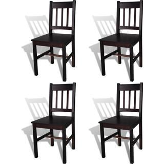 vidaXL 241517 4-pack Kitchen Chair