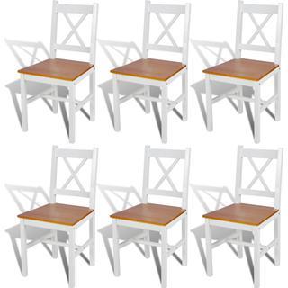 vidaXL 271497 6-pack Kitchen Chair