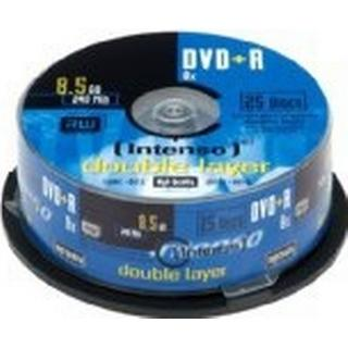 Intenso DVD+R 8.5GB 8x Spindle 25-Pack