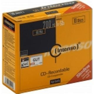 Intenso CD-R 700MB 52x Slimcase 10-Pack