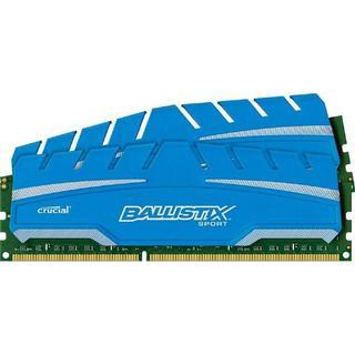 Crucial Ballistix Sport XT DDR3 1600MHz 2x4GB (BLS2C4G3D169DS3J)