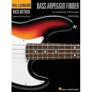 Hal Leonard Bass Arpeggio Finder