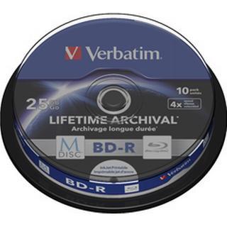 Verbatim BD-R 25GB 4x Spindle 10-Pack Inkjet