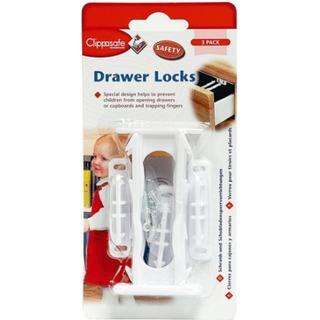 Clippasafe Drawer Locks 3pcs