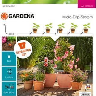 Gardena Micro Drip System Expansion Set Plant Pots
