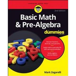 Basic Math and Pre-Algebra for Dummies (Häftad, 2016), Häftad
