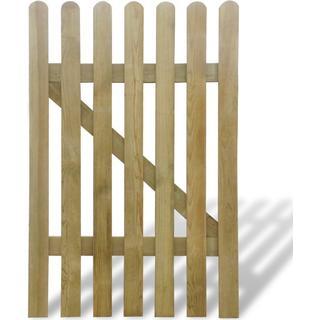 vidaXL Wooden Gate 100x150cm