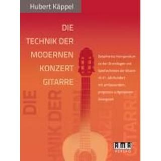 Die Technik der modernen Konzertgitarre (Häftad, 2011)