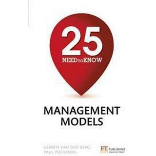 25 Need-To-Know Management Models (Häftad, 2015), Häftad