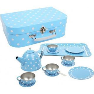 Bigjigs Polka Dot Tin Tea Set