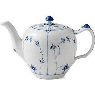 Royal Copenhagen Blue Fluted Plain Teapot 1 L