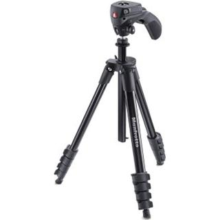 Manfrotto Compact Action Aluminium + Hybrid Head