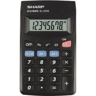 Sharp EL-233SBBK