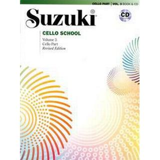 Suzuki cello school. Vol 3, book and CD (Häftad, 2014), Häftad