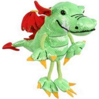 The Puppet Company Dragon Green Finger Puppets