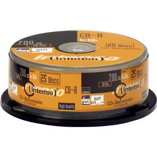 Intenso CD-R 700MB 52x Spindle 25-Pack