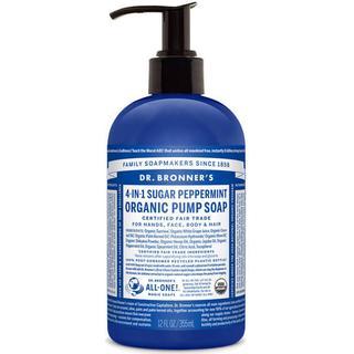 Dr. Bronners Organic Shikakai Spearmint Peppermint Hand Soap 355ml