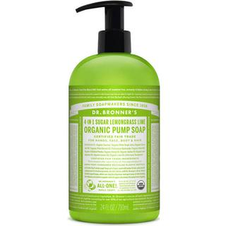 Dr. Bronners Organic Sugar Soap Lemongrass Lime 710ml