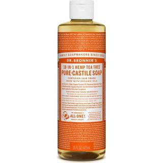 Dr. Bronners Pure Castile Liquid Soap Tea Tree 473ml