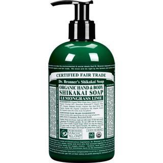 Dr. Bronners Organic Shikakai Lemongrass Hand Soap 355ml