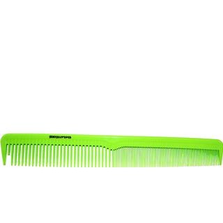 Denman Precision Cutting Comb Limegreen