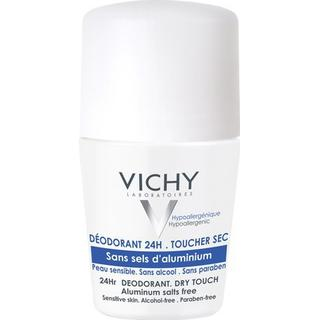 Vichy 24Hr Aluminium Salt Free Deo Roll On 50ml