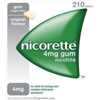 Nicorette 4mg 210pcs Gum 210pcs