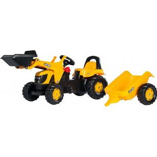 Rolly Toys Rolly Kid JCB Tractor with Front Loader & Trailer