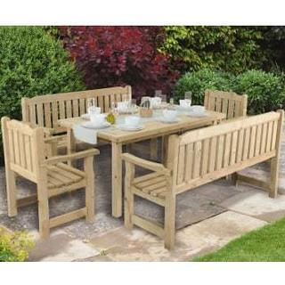 Forest Garden Rosedene Dining Table