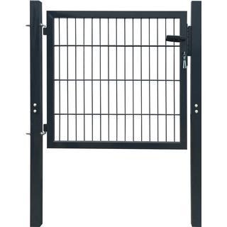 vidaXL 2D Garden Gate 106x130cm