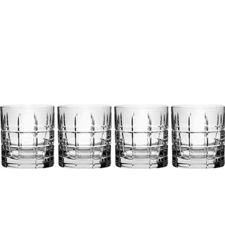 Orrefors Street Old Fashioned Whisky Glass 27 cl 4 pcs