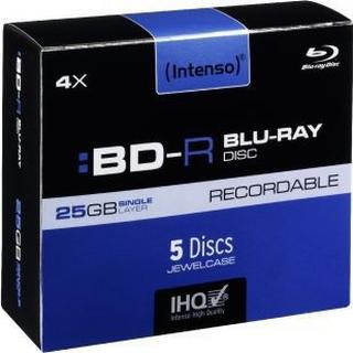 Intenso BD-R 25GB 4x Jewelcase 5-Pack