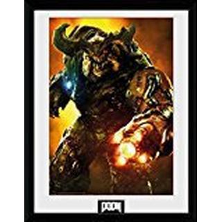 GB Eye Doom Cyber Demon 30x40cm Framed art