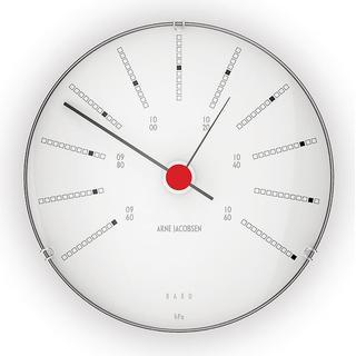 Arne Jacobsen Bankers Barometer 12cm Wall clock