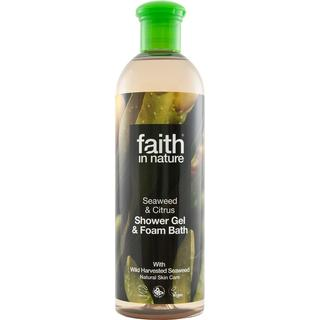 Faith in Nature Seaweed & Citrus Shower Gel & Foam Bath 400ml