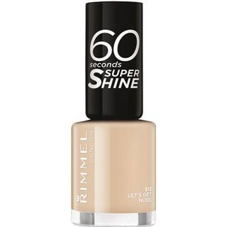 Rimmel 60 Seconds Super Shine #513 Let's Get Nude 8ml