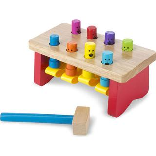 Melissa & Doug Deluxe Pounding Bench Toddler
