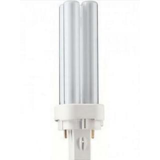 Philips Master PL-C Fluorescent Lamp 10W G24D-1 830